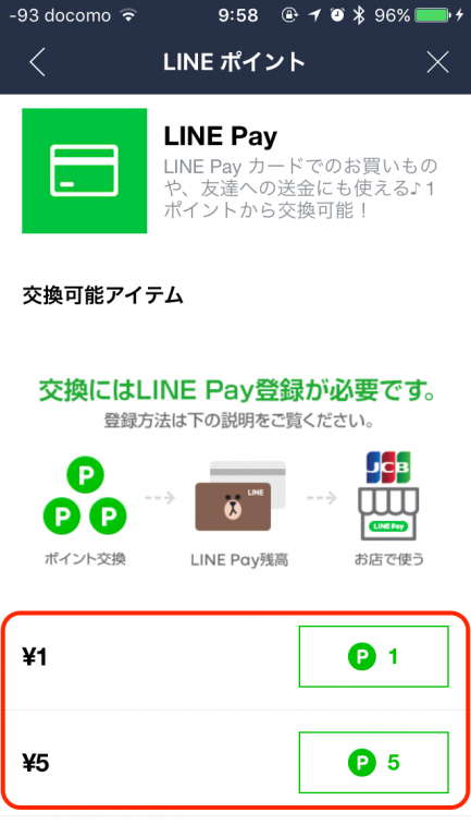 LINE Pay Point